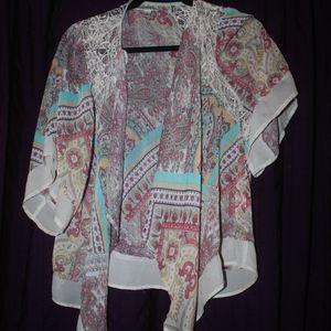 Dressbarn Kimono M